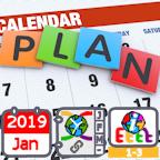 2019 Annual Calendar - General International